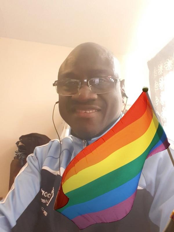 """Résultat de recherche d'images pour """"Omar Faye, défenseur de la communauté des LGBT basé à Londres"""""""